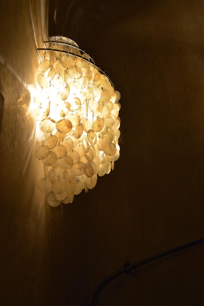 Luminaire au Palazzo Manfredi
