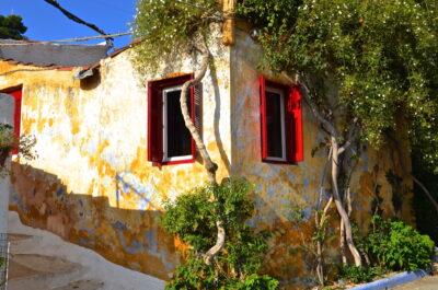 Maison typique du quartier d'Anafiótika