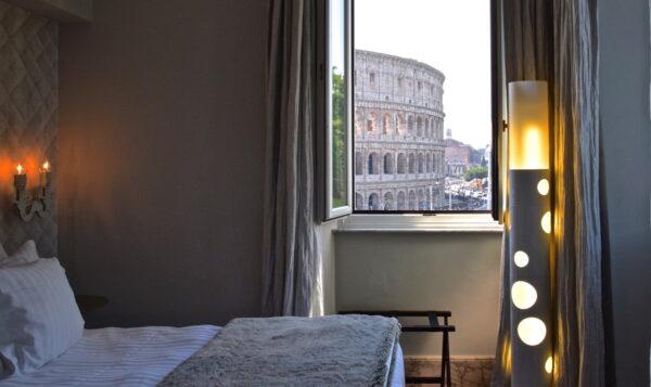 Palazzo Manfredi, un hôtel parfait avec vue sur le Colisée