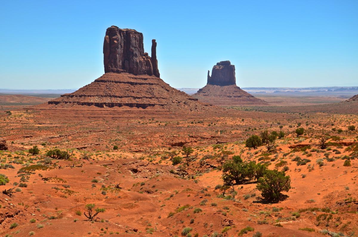 Panorama depuis le Wildcat trail