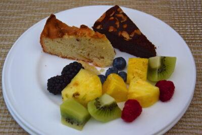 Petit déjeuner au Palazzo Manfredi