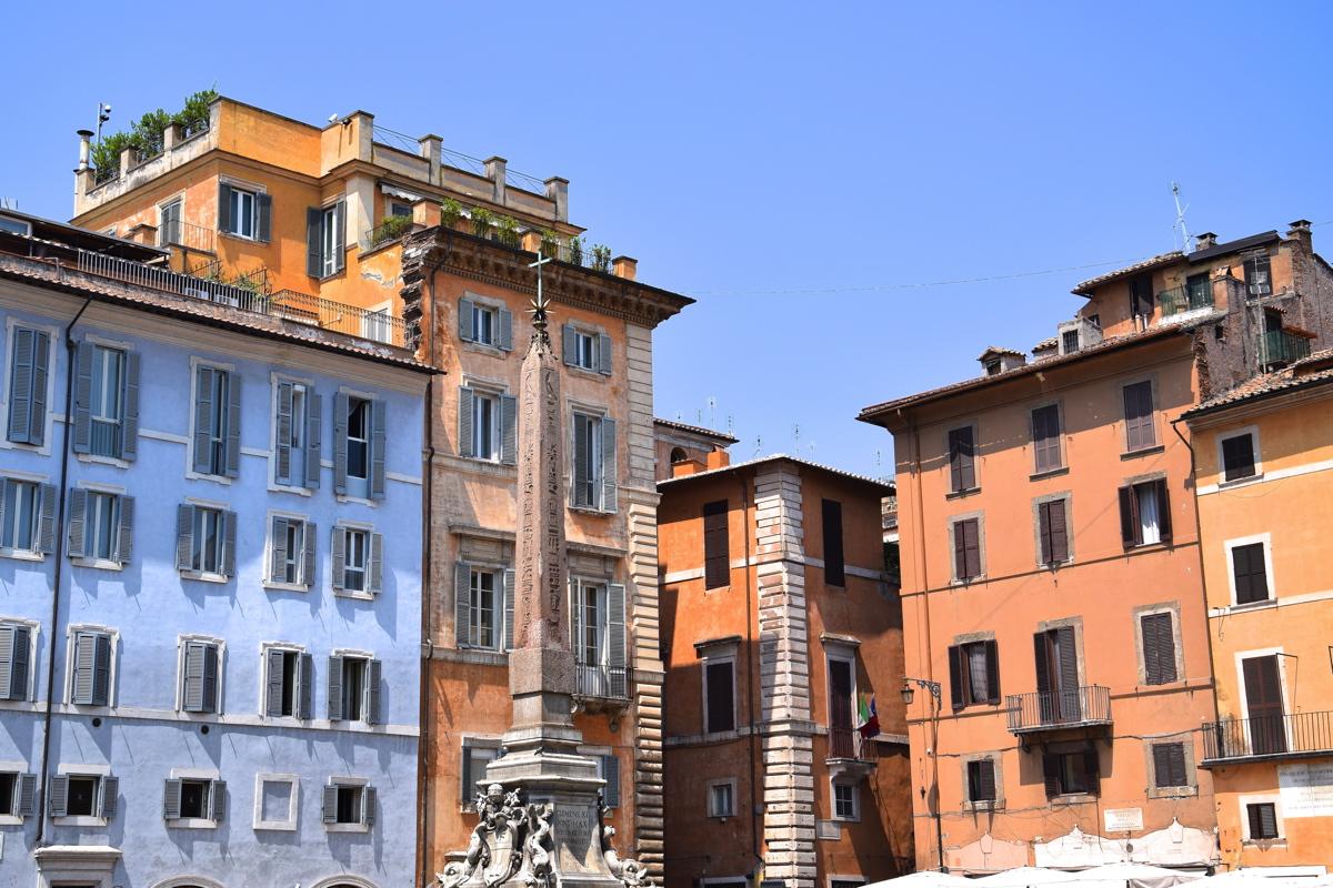 Place Du Panthon Rome