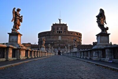 Pont Saint-Ange à Rome