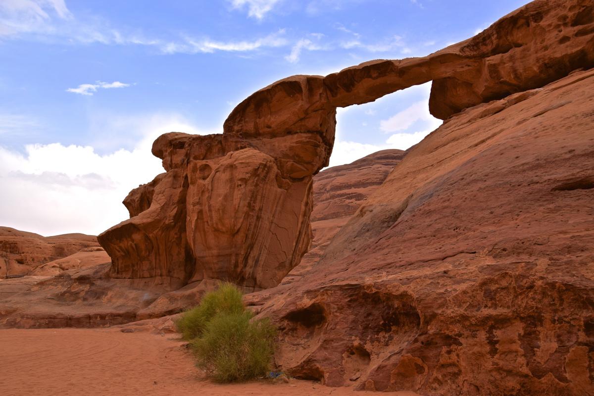 Arche naturelle au Wadi Rum