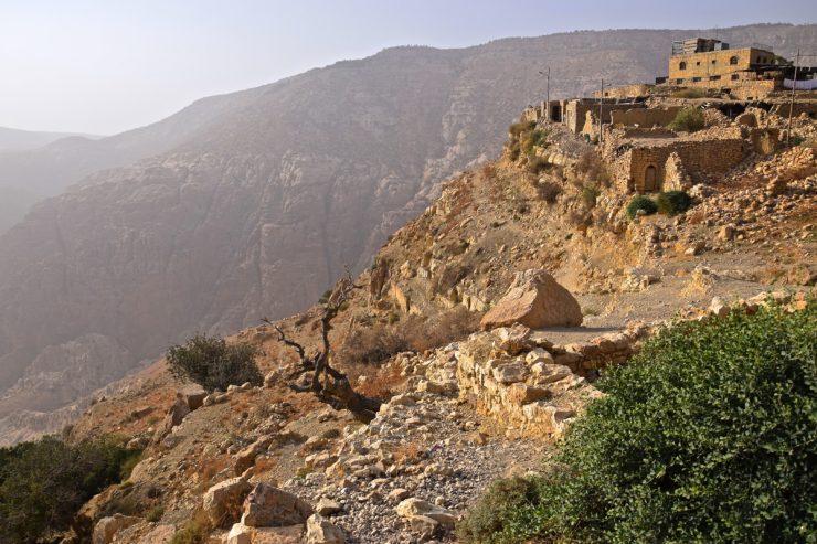 Dana, village en Jordanie
