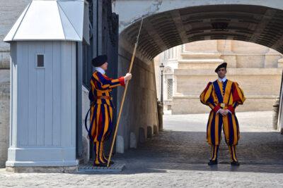 Gardes suisses au Vatican