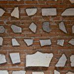 Inscription de tombes aux catacombes de Saint-Calixte