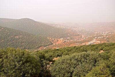 Panorama à Ajloun
