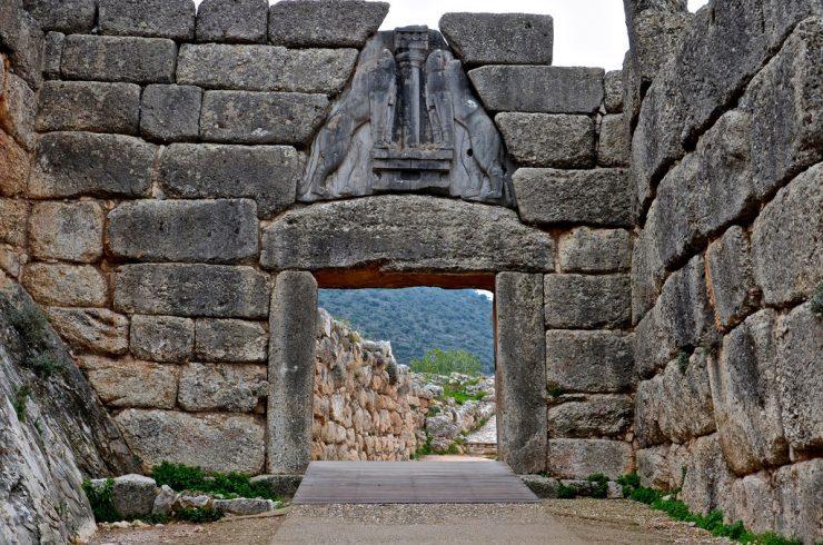 Porte des Lionnes de Mycènes