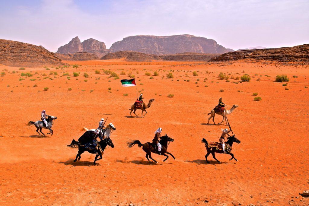 Reconstitution historique de la révolte arabe