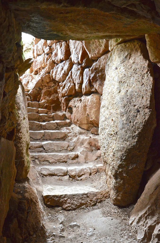 Dans les ruines de Mycènes