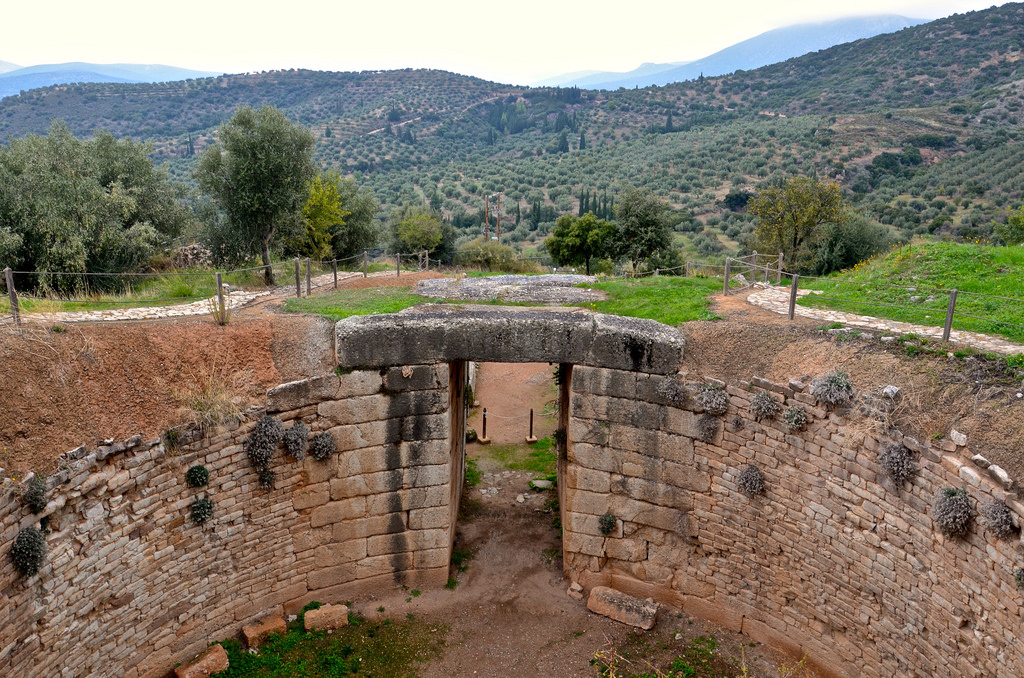 Site antique de Mycènes