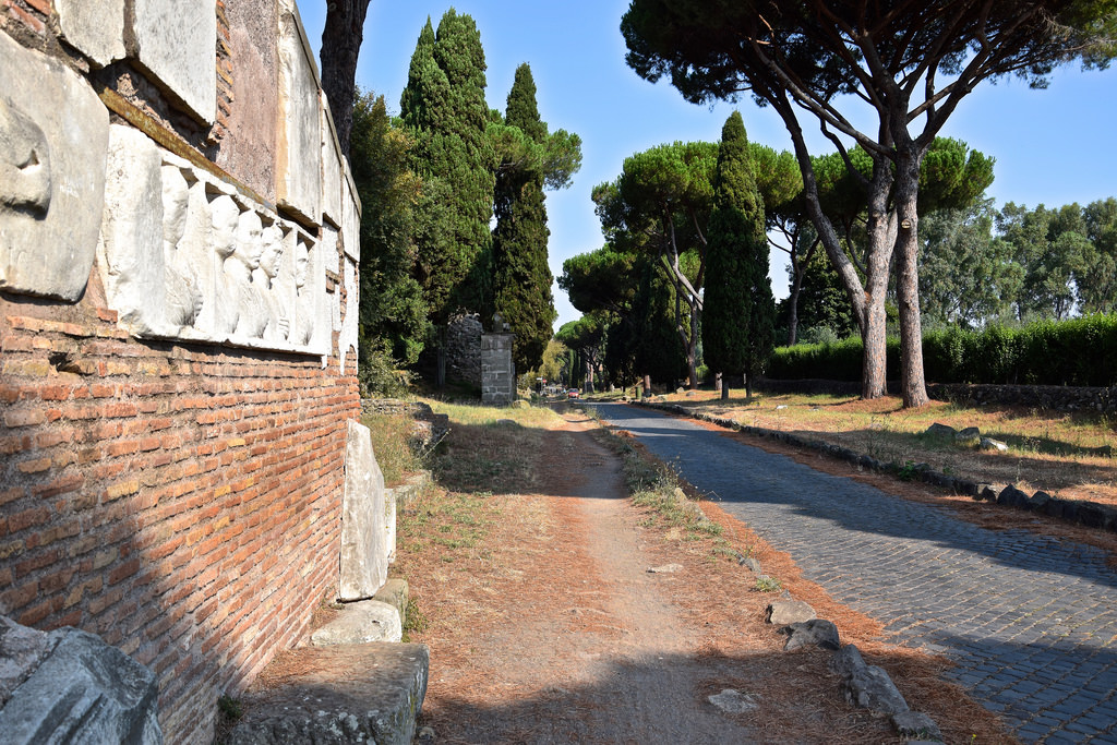 Vestiges sur la Via Appia