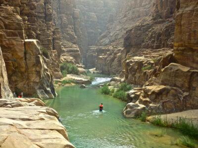 Canyoning au Wadi al Mujib