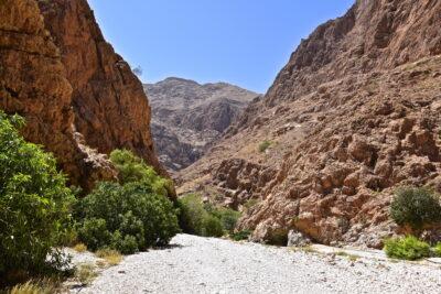 Balade dans le wadi Shab