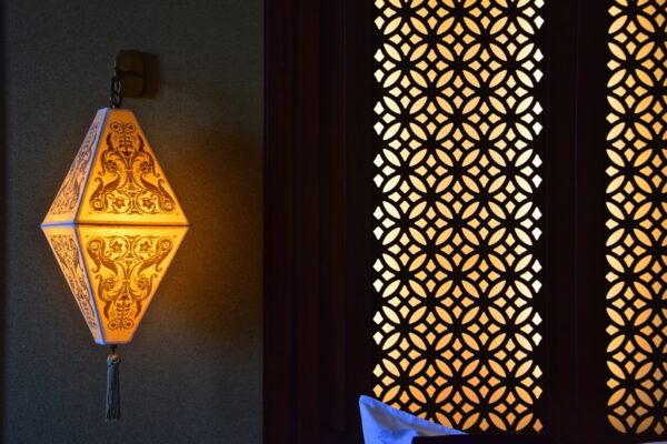 Décoration au Shangri-La Al Husn