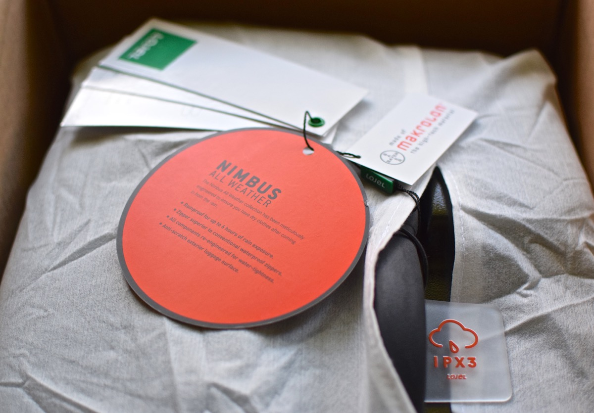 Emballage de la Lojel Nimbus