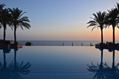 Infinite Pool à l'hôtel Shangri-La Al Husn