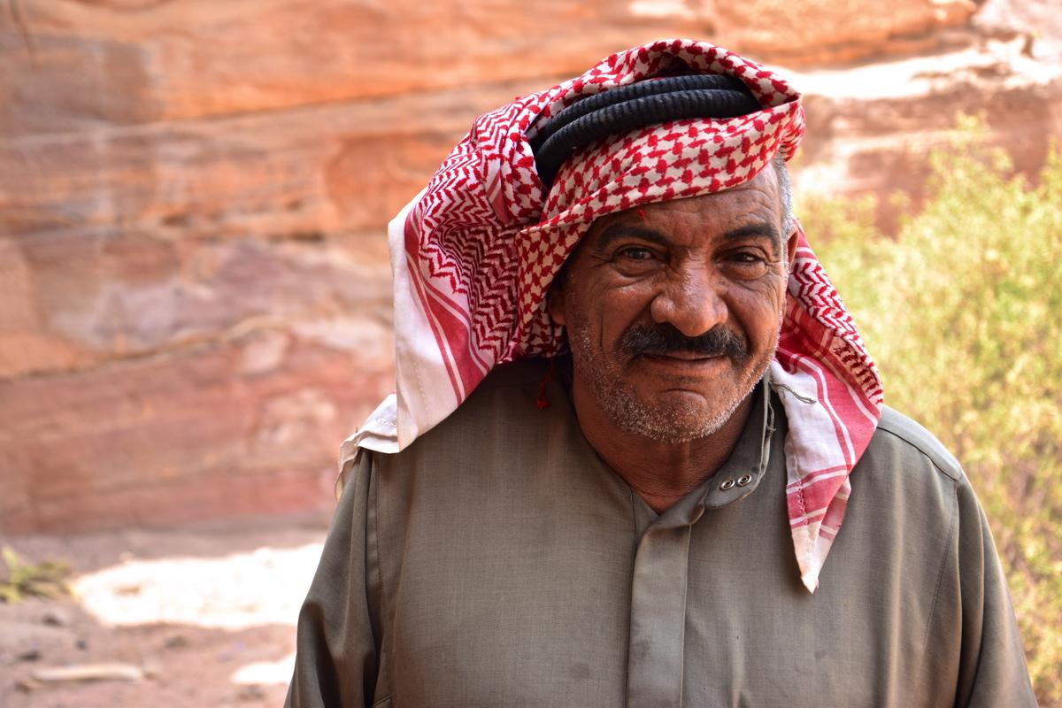 Ismail, bédouin à Pétra
