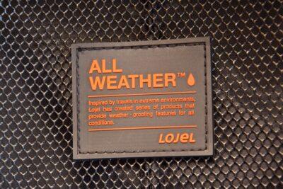 Lojel Nimbus, All weather!