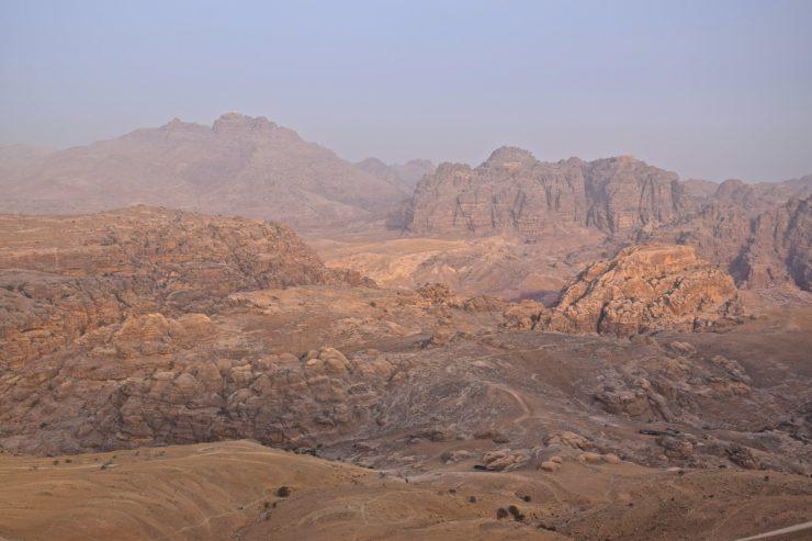 Montagnes de Pétra