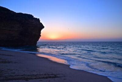 Lever de soleil à Ras al Jinz