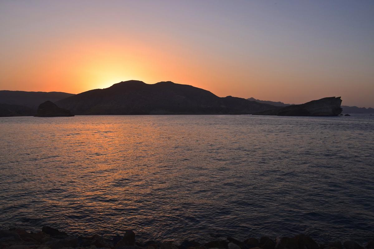 Sunset au Shangri-La Al Husn
