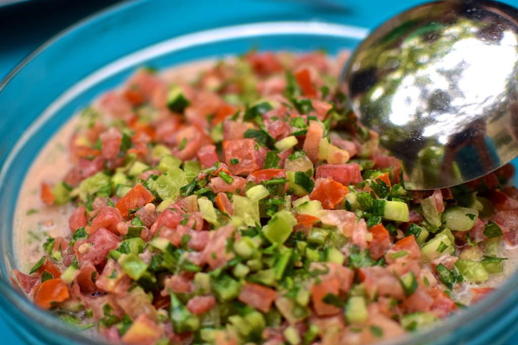 Tahina salad
