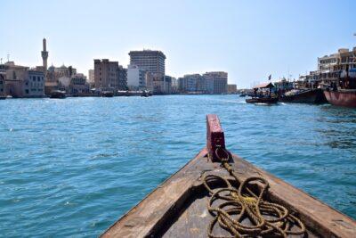 Abra dans le quartier de Deira à Dubai