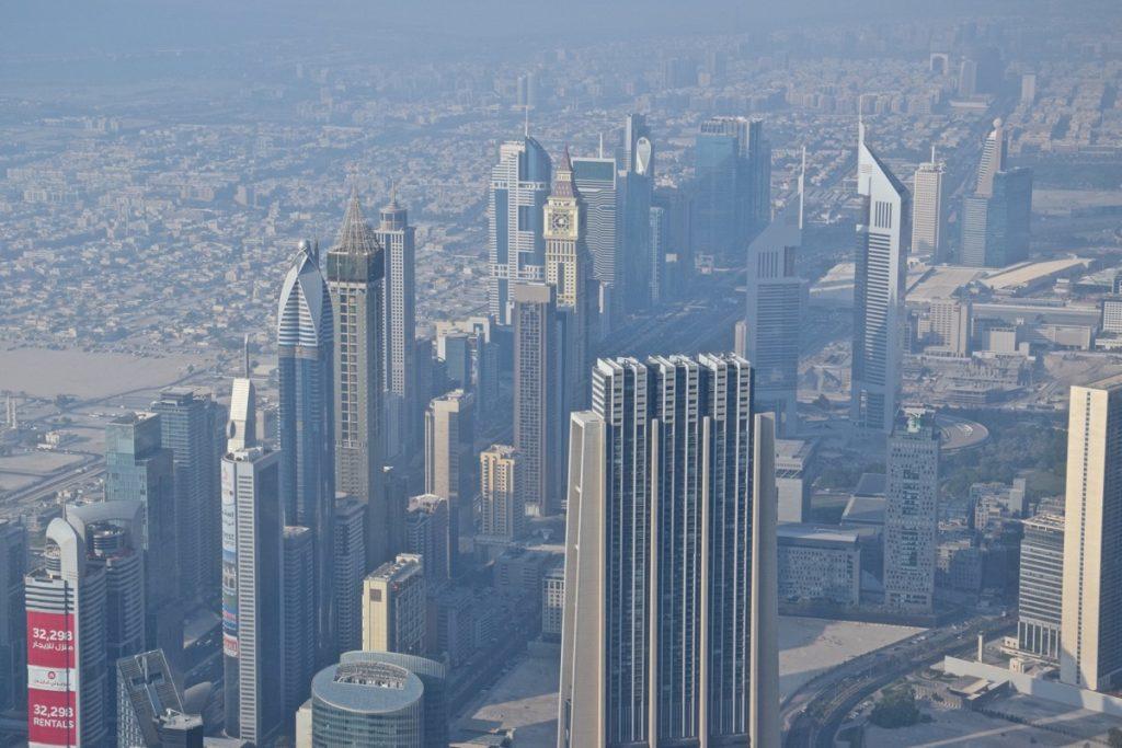 Buildings de la Sheikh Zayed Road à Dubai