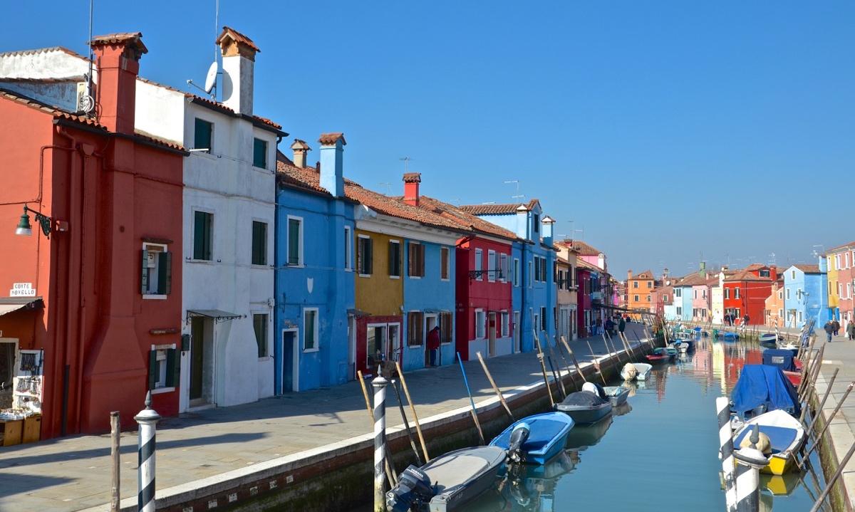Burano, voisine colorée de Venise