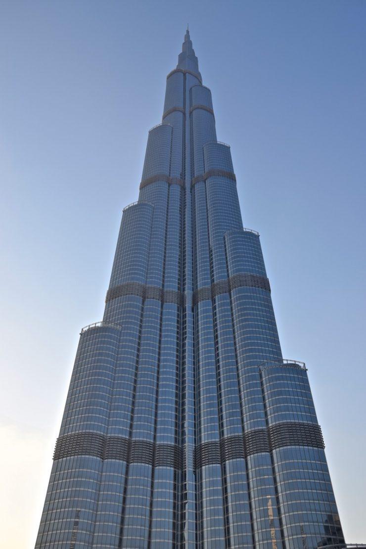 Burj Khalifa à Dubai