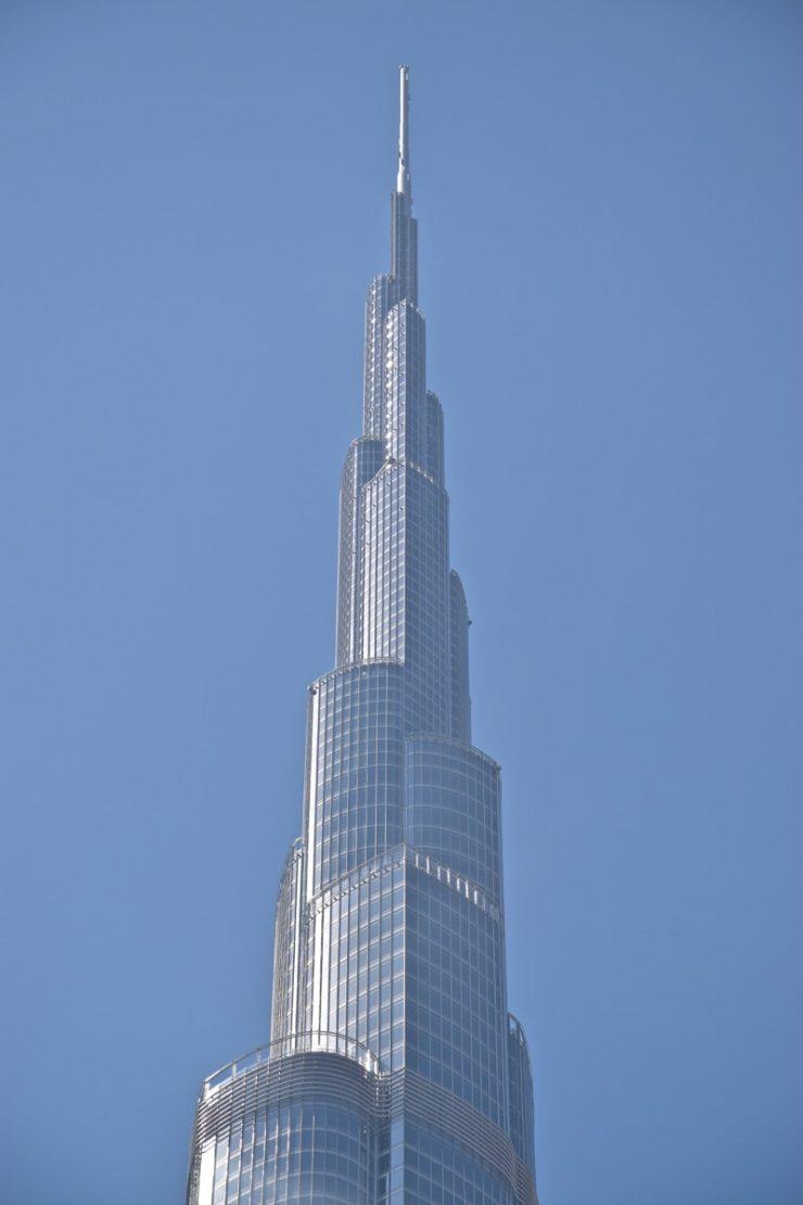 Sommet de la Burj Khalifa