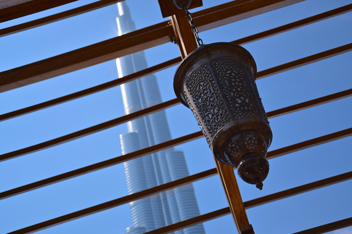Lanterne & Burj Khalifa
