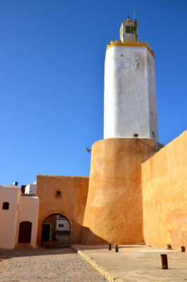 Minaret de la mosquée de la cité portugaise d'El Jadida