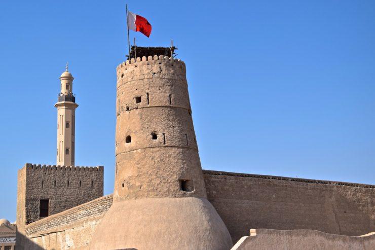 Fort dans le vieux Dubai