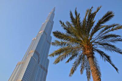 Palmier & Burj Khalifa