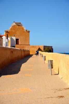 Sur les remparts de la cité portugaise d'El Jadida