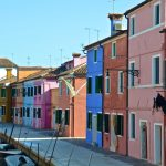 Ruelle & canal à Burano