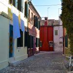 Une ruelle de l'île de Burano