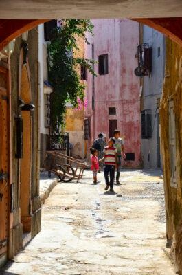 Ruelle de la cité portugaise d'El Jadida