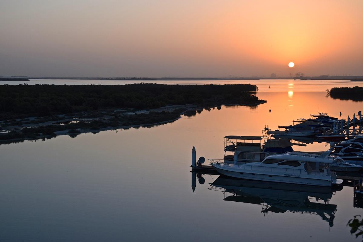 Sunrise à Abou Dhabi