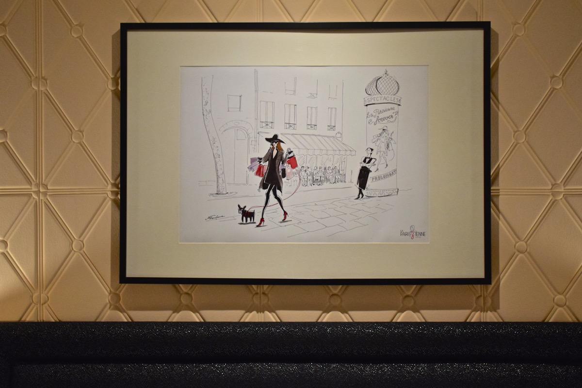 Décoration de l'hôtel la Parizienne