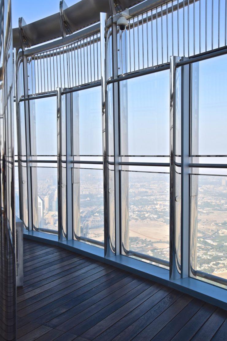 Terrasse extérieure de la Burj Khalifa