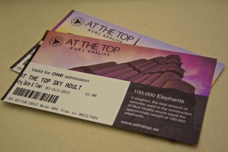 Tickets Burj Khalifa At the Top Sky