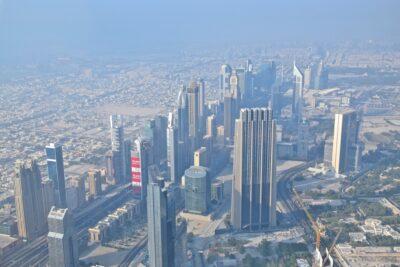 Vue depuis Burj Khalifa