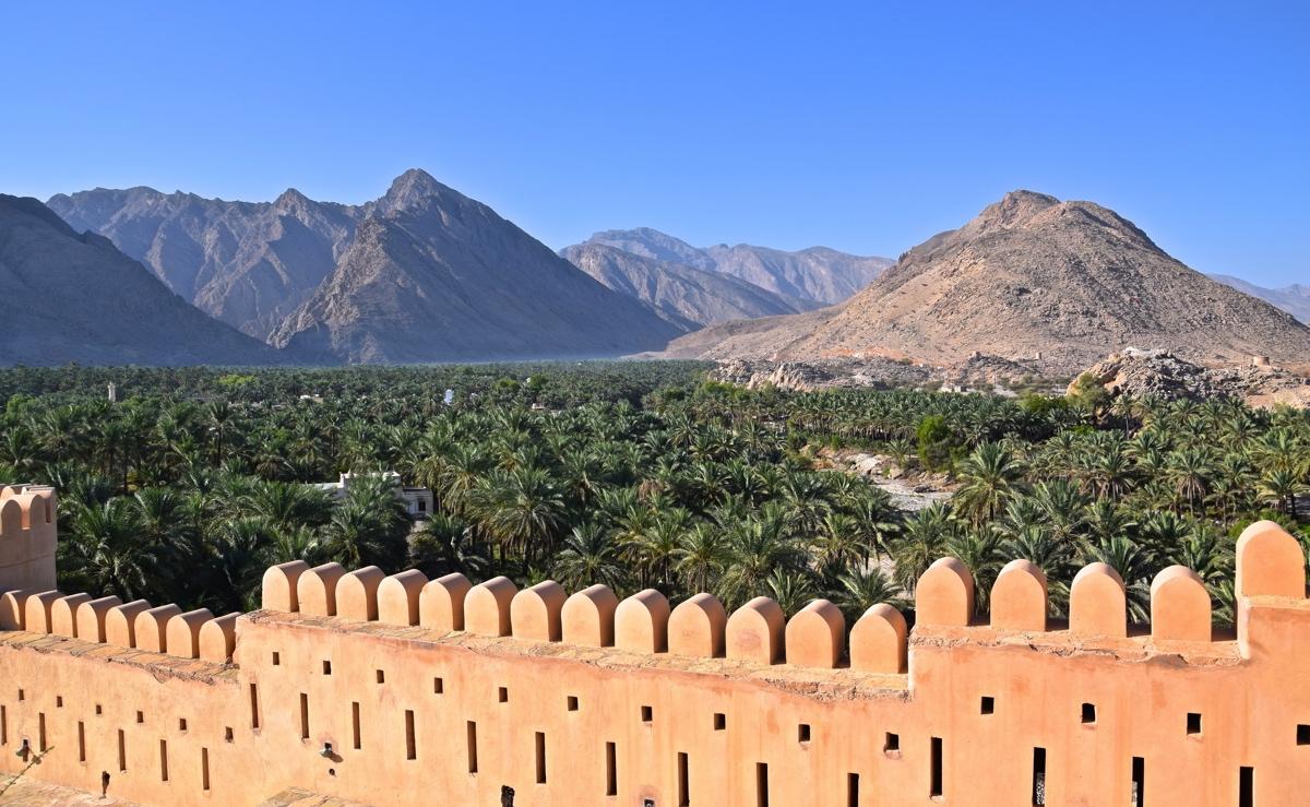 Fort de Nakhal au sultanat d'Oman