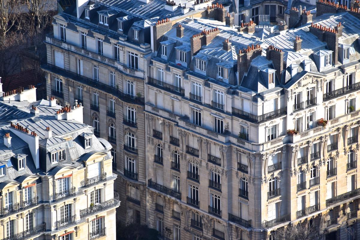 Immeubles parisiens depuis la Tour Eiffel