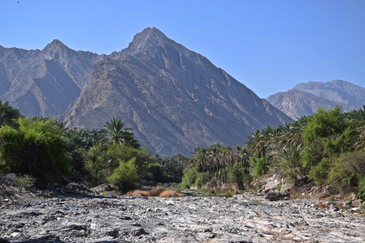 Oued près du fort de Nakhal
