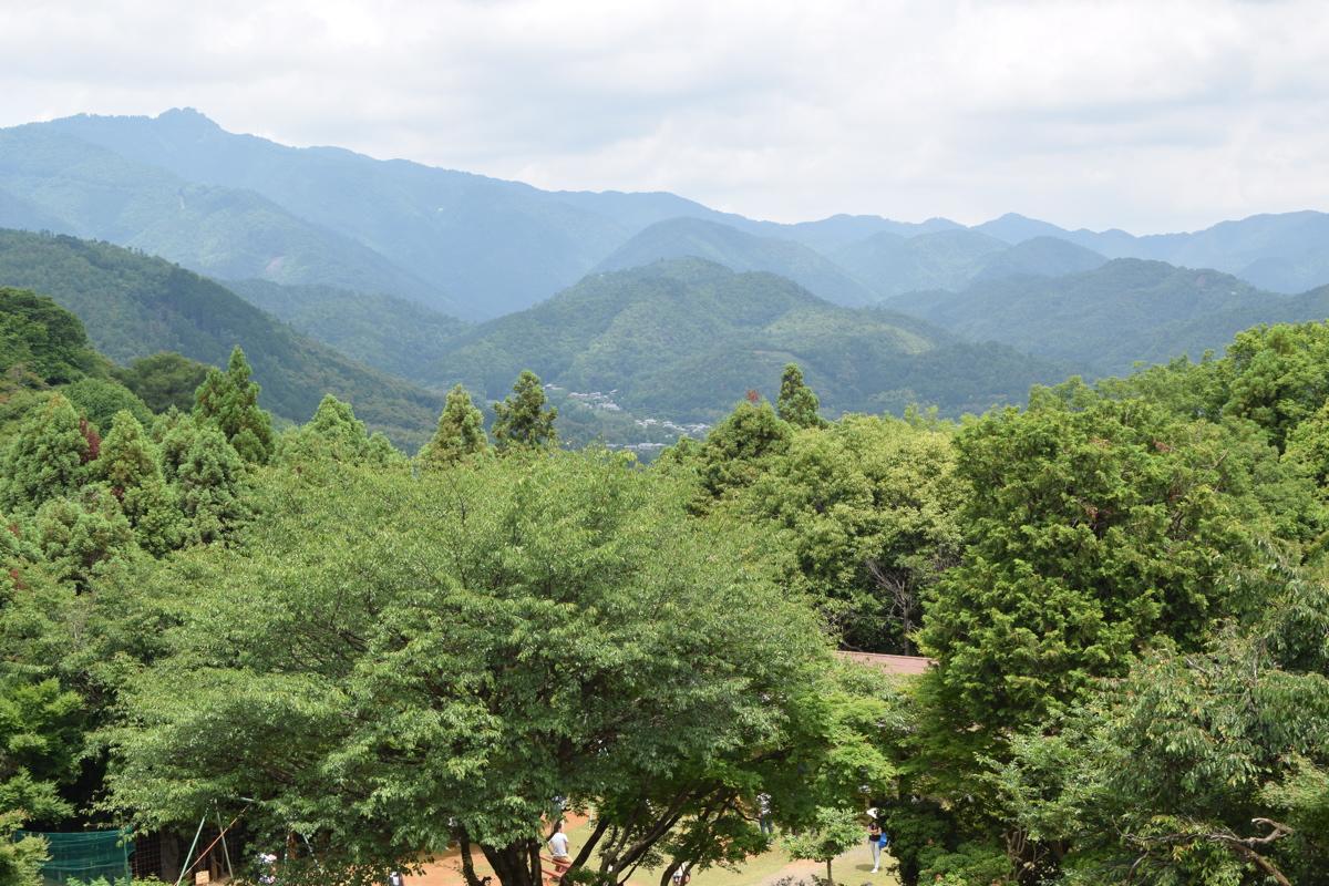 Vue sur Kyoto depuis Arashiyama